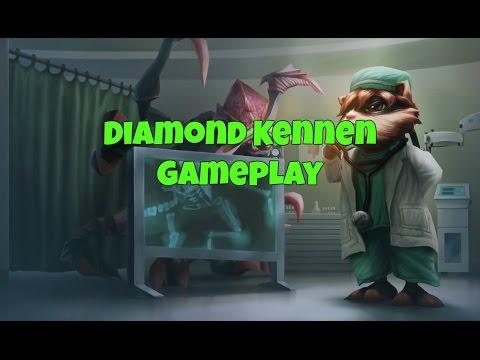 Kennen Mid vs Diana - Diamond 5 - Patch 7.5
