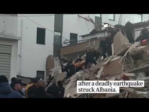 Earthquake in Albania 2019 6.4 magnitude