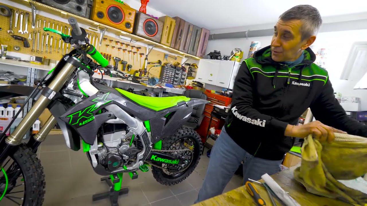 Motocross P2 manutenzione comando gas - featuring @Mauro.Biggi