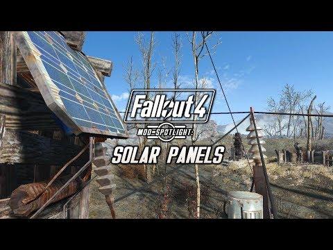 Mod Spotlight: Solar Panels (Fallout 4)