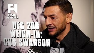 UFC 206: Cub Swanson Focused on Dooho Choi and Not Title Picture