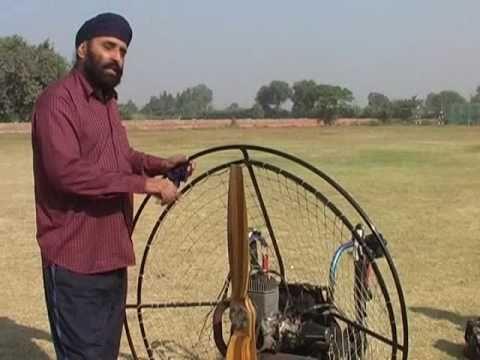 S Bhupinder singh, Dhanola, First Sikh Paraglider of North India Part 1