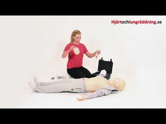 Utbildning vuxen HLR med hjärtstartare (Hjärt Lungräddning) 10min
