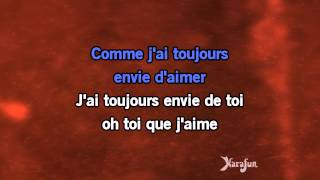 Karaoké Comme j