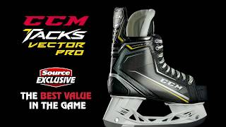 Source Exclusive: CCM Tacks Vector Pro Hockey Skates (2018) | Source For Sports