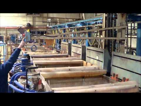 Napco 18 Station Automatic Rack/Barrel Plating Line PL2043