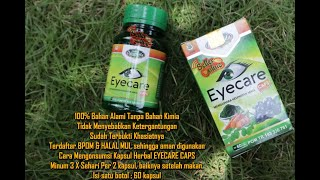 Obat Mata Herbal Eyecare Caps