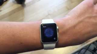 Apple Watch 38MM White Unboxing And Quick Look