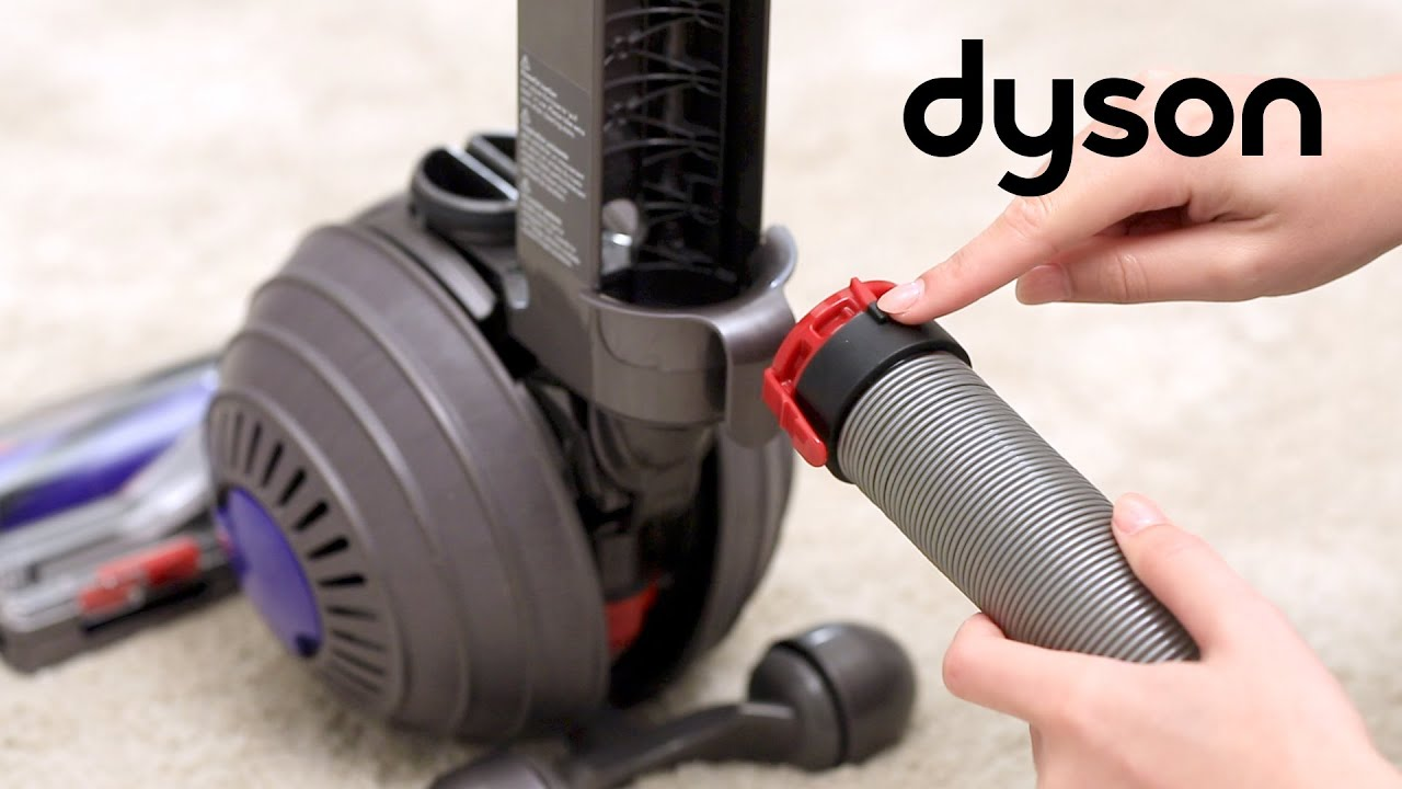 Dyson DC50 and UP15 upright vacuums - Replacing the main hose (UK)