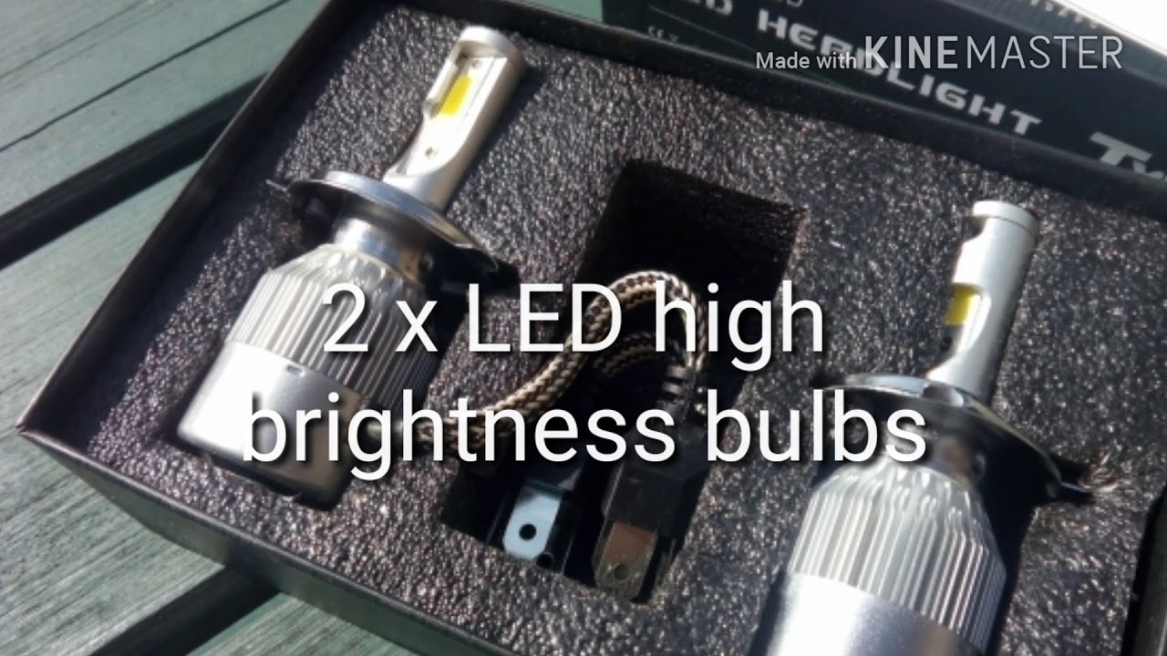 How to fit LED headlights to a VW Transporter T4  - YouTube