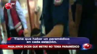 Accidente en Metro Plaza de Armas