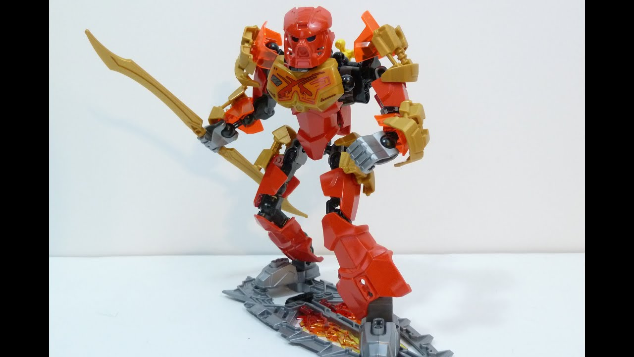 Rob A Reviews LEGO Bionicle 70787 TAHU Master of Fire ...  Rob A Reviews L...