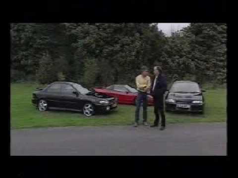 Top Gear - Lancer Evo 1 v Impreza v Honda NSX