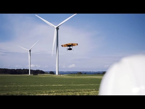 Tvilum Landinspektørfirma A/S uses drone Aibot X6 for surveying, mapping and inspection
