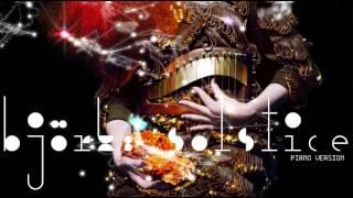 björk: solstice (piano version)