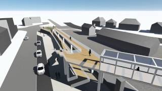 Sleaford's Southgate Footbridge Design 3d Tour Video