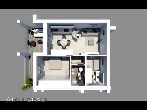 Appartamenti di 60 mq di nuova costruzione a sottomarina for Appartamento 60 mq design