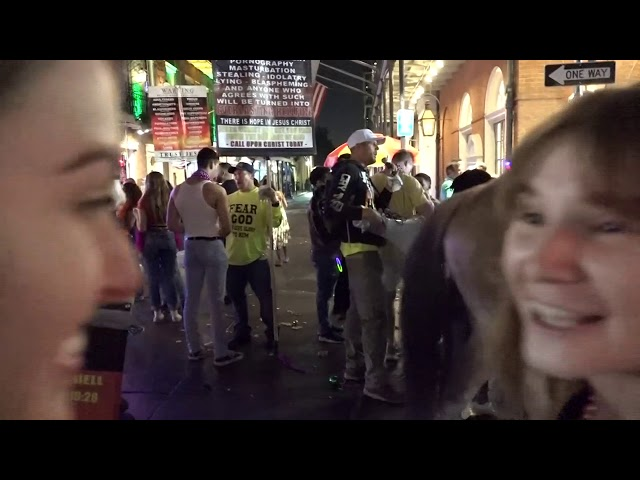 Mardi Gras Compilation of Street Preachers
