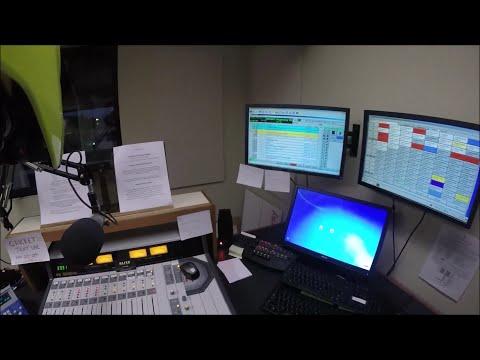 My commute, KLR brainfart, mini radio station tour