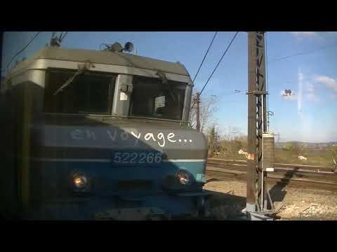 Train trajet de Lyon  Part  Dieu à Chalon sur Saône