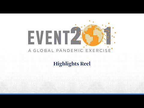 Event 201 Pandemic Exercise: Highlights Reel