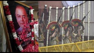 BJP stalwart Arun Jaitley cremated at Nigambodh Ghat with state honours