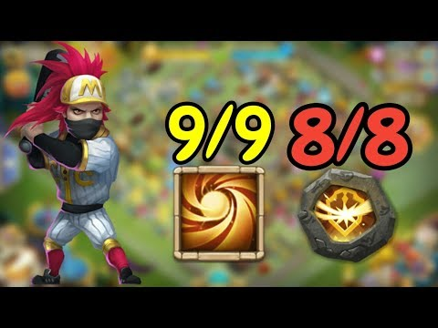 9/9 Sacred Light Ronin In Action L Castle Clash