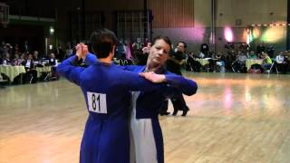 Ballroom Dancing Competition NADB - Same Sex couples - Uniparen - A-Class