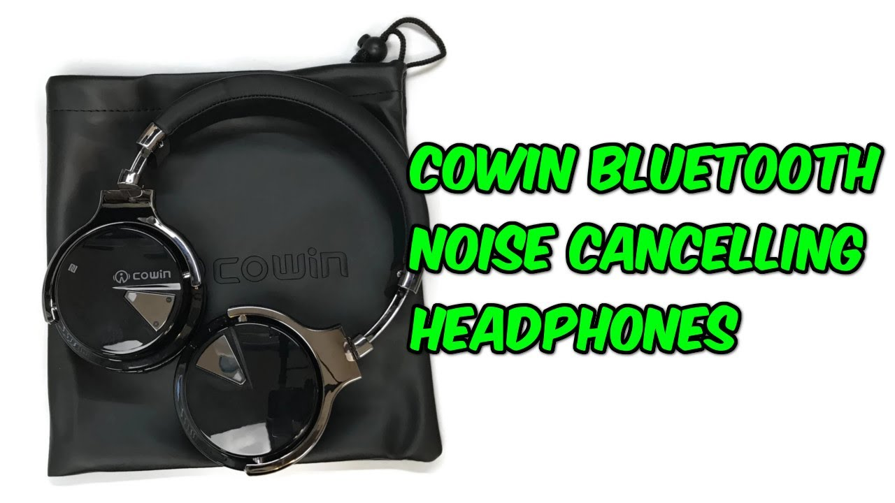 Cowin E7 Bluetooth Noise Cancelling Headphones