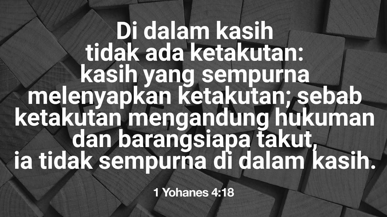 7 Ayat Alkitab Supaya Jangan Takut
