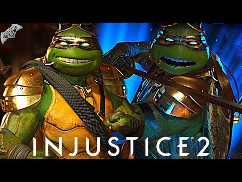 Injustice 2 Online - EPIC GOLDEN NINJA TURTLE!