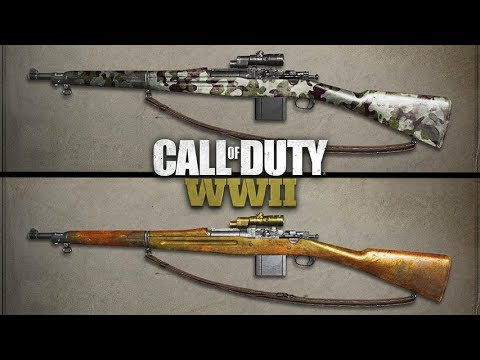 Legendary and Epic Weapon Variants in Call of Duty World War 2 (WW2 News)