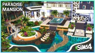 Paradise Beach Mansion 🌴 [No CC] - Sims 4 Speed Build | Kate Emerald