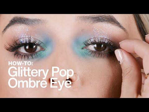 HOW TO: Glittery Pop-Ombre Eye   MAC Cosmetics
