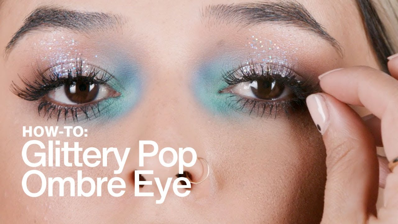 HOW TO: Glittery Pop-Ombre Eye | MAC Cosmetics