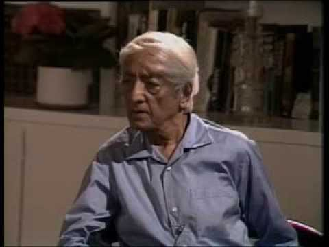 J. Krishnamurti - Ojai 1982 - Discussion with Scientists 1 - Roots of psychological disorder