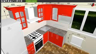 Как проектировать кухню в конструкторе BPlanner