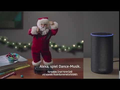 Amazon Echo Moments - Tanzender Santa