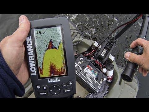 Extreme Winter Bass Fishing (50+ Feet Deep/38 Degree Water) BLADE BAIT