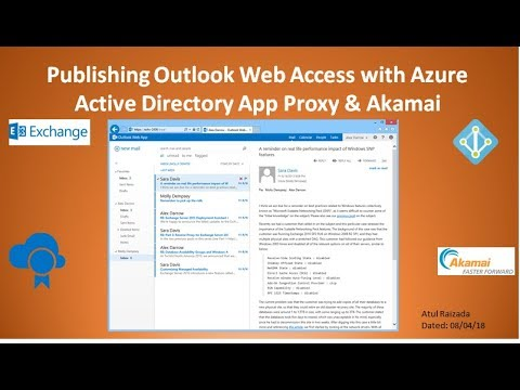Azure AD App Proxy with Akamai Demo for OWA