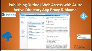 Gambar cover Azure AD App Proxy with Akamai Demo for OWA