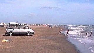 1993 augustus Zuid-Frankrijk video 1 van 4 - Camping De La Chapelette - Met Espace op het Strand