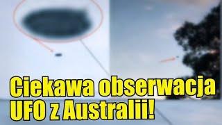 Niezwykle dobre nagranie UFO z Australii!