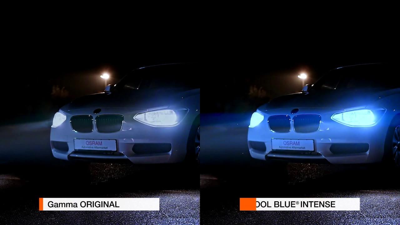 Lampade alogene automotive osram prova la differenza youtube