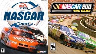NASCAR 2001 vs NASCAR 2011 The Game