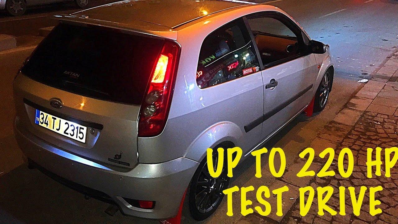 Ford Fiesta S -Big Turbo Project Test Drive-