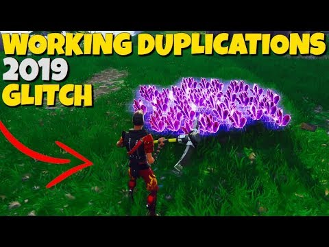 *WORKING* Duplication Glitches 2019 Fortnite Save The World