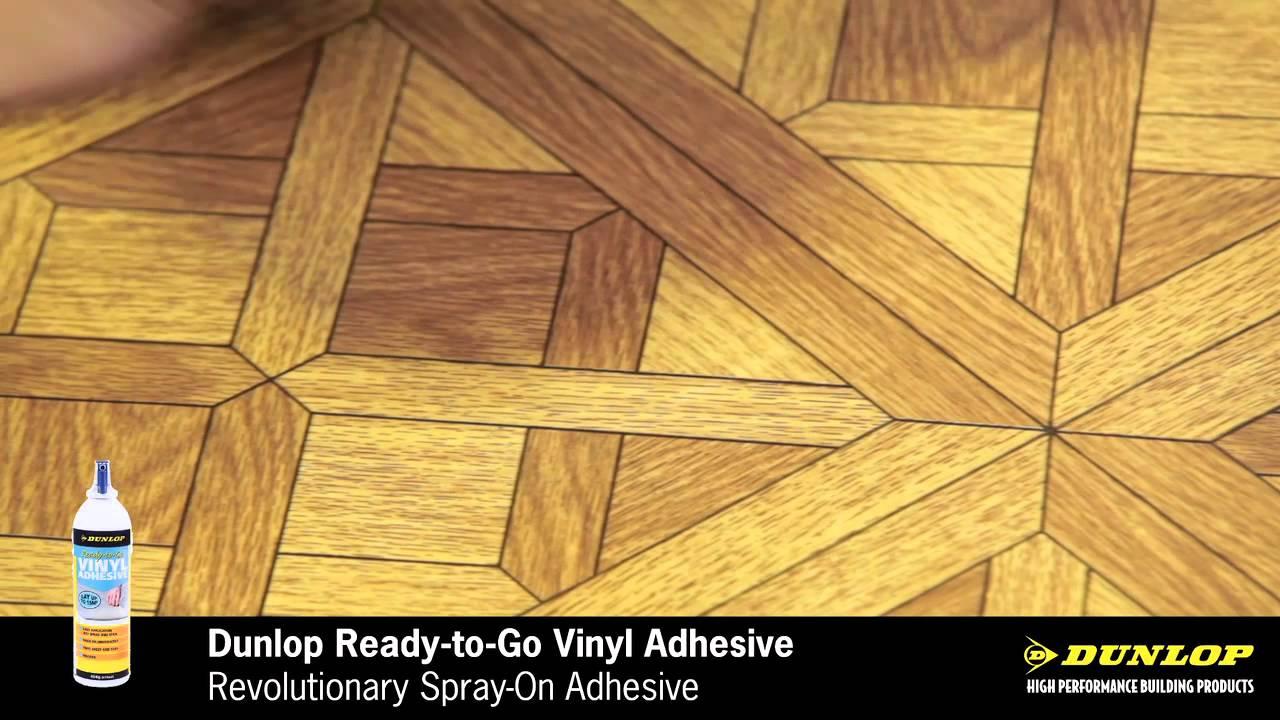 Dunlop Ready To Go Vinyl Spray Adhesive