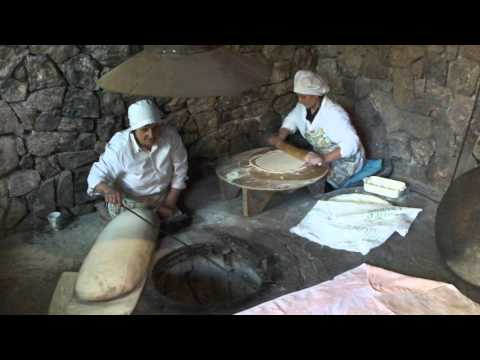 Как готовят лаваш в Армении?
