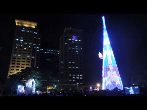 2013新北市歡樂耶誕城 - 點燈開城